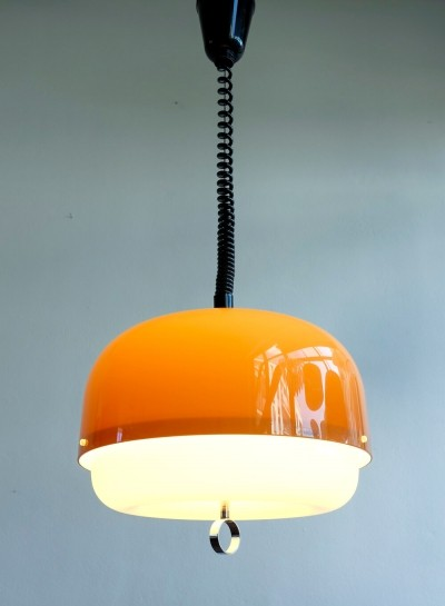 Hanging lamp by Harvey Guzzini for Meblo, 1970s