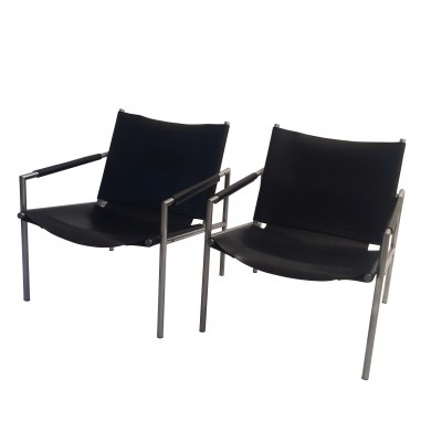 2 x lounge chair by Martin Visser for Spectrum, 1960s