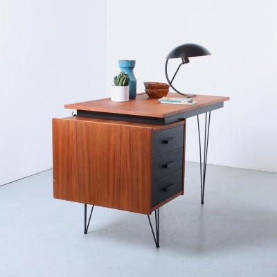 Hairpin writing desk by Tijsseling, 1950s