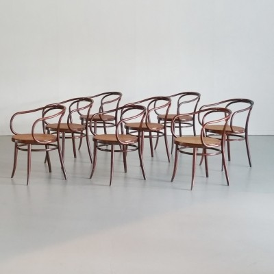 Set of 8 Thonet B9 / 209 Chairs by Ligna, 1960s
