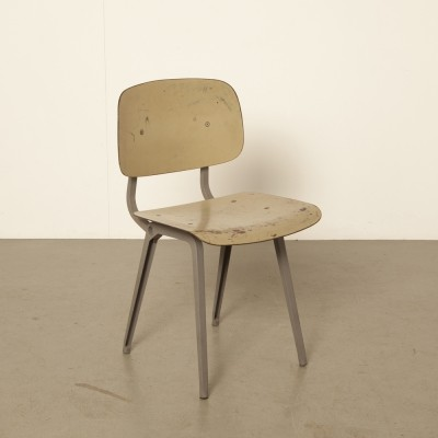 Revolt dinner chair by Friso Kramer for Ahrend, 1950s