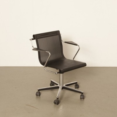 2 x office chair by Forme E Funzioni for Airon Italy, 1980s