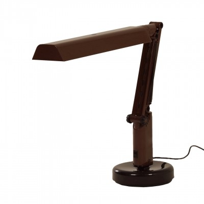 Brown Lucifer Desk lamp by A&E Design for Fagerhults, 1970s