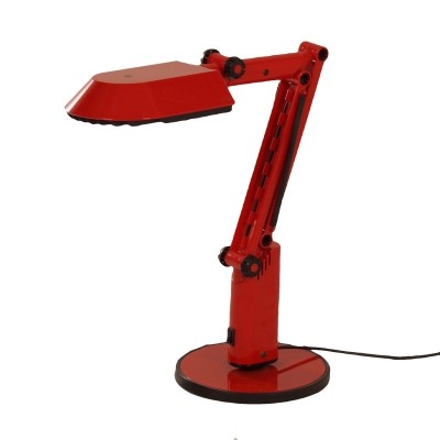Red Desklamp by A&E Design for Fagerhults