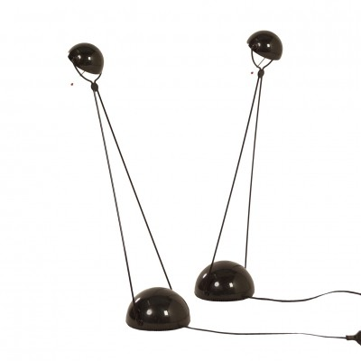 Pair of Meridiana desk lamps by Paolo Piva for for Stefano Cevoli, 1980s