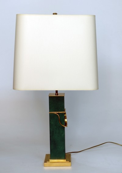 Large hollywood regency table lamp, 1970s