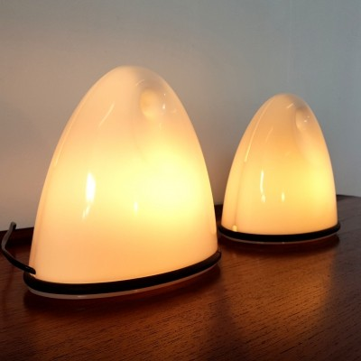 Space age table lamps by Bruno Gecchelin for iGuzzini, 1970s