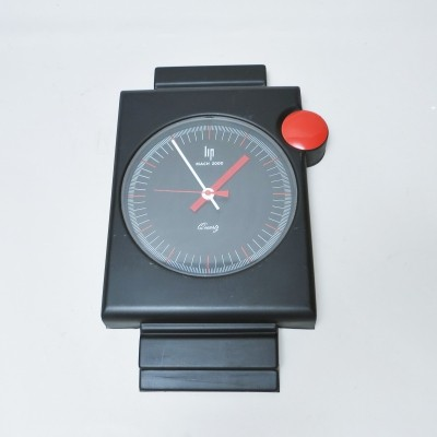 Mach 2000 clock by Roger Tallon for Lip, 1970s