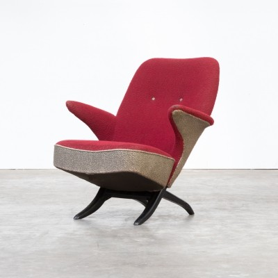 50s Theo Ruth 'penguin' lounge chair for Artifort