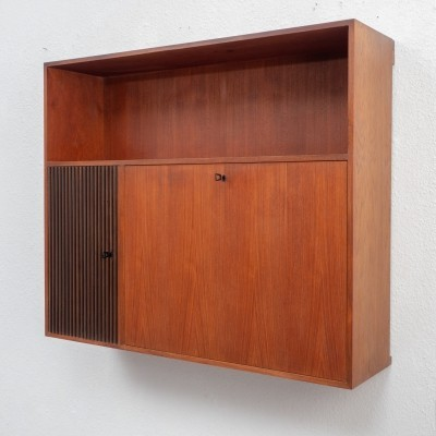 Writing desk wall cabinet, 1960s