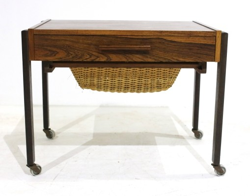 Vintage Scandinavian Sewing Table