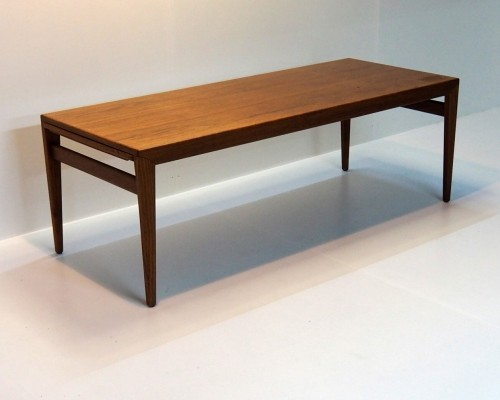 Johannes Andersen extendable coffee table for Uldum Mobelfabrik