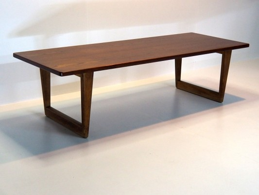 'Hunting' coffee table by Børge Mogensen for Fredericia