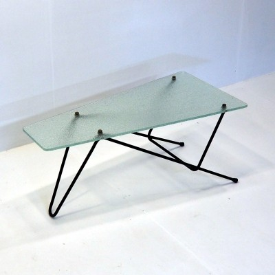 1950's French coffee table by R. Mathieu