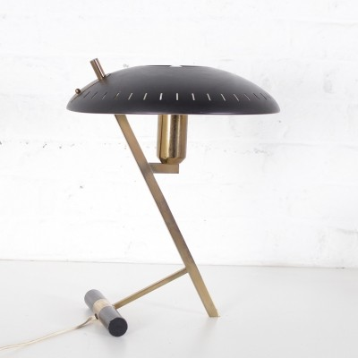 Louis Kalff 'Z' brass table lamp for Philips