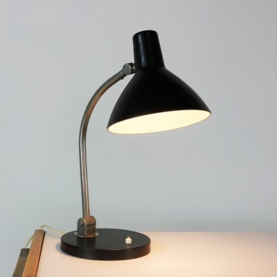 Desk lamp by H. Busquet for Hala Zeist, 1960s