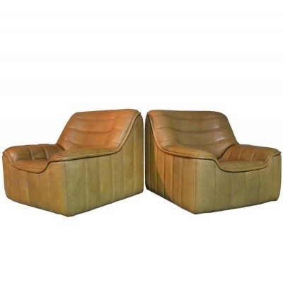Pair of DS 84 arm chairs by De Sede, 1970s