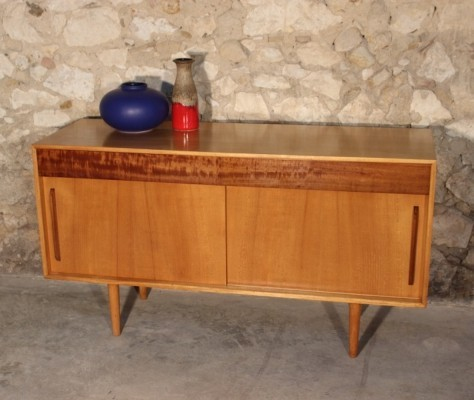 Vintage sideboard by Robin Day for Hille, 1952