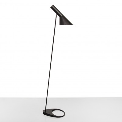 Vintage Arne Jacobsen Visor floor lamp in black