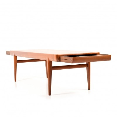 Danish Teak wooden Sofa Table by Johannes Andersen, 1950s