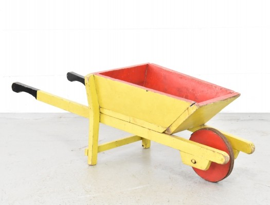 Vintage Childrens Wheelbarrow, 1930s