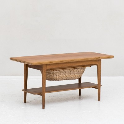 Coffee table / sewing cabinet, Denmark 1960