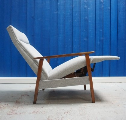 Mid Century Recliner Armchair from 1960's