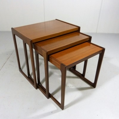 Walnut Nesting Tables by Opal
