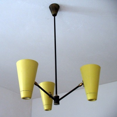 Rare 1950's lamp by the danish company Fog & Morup