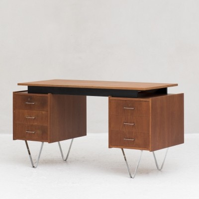 Writing desk by Cees Braakman for Pastoe, Dutch design 1960