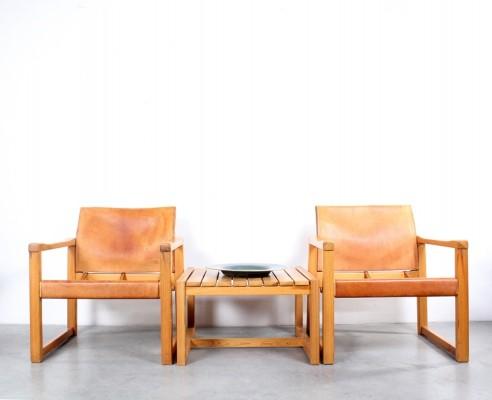 Pair of Diana arm chairs by Karin Mobring for IKEA, 1970s