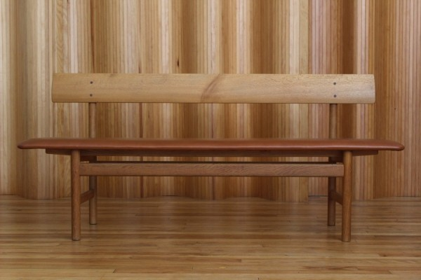 Borge Mogensen 'model 171' oak bench for Fredericia Stolefabrik