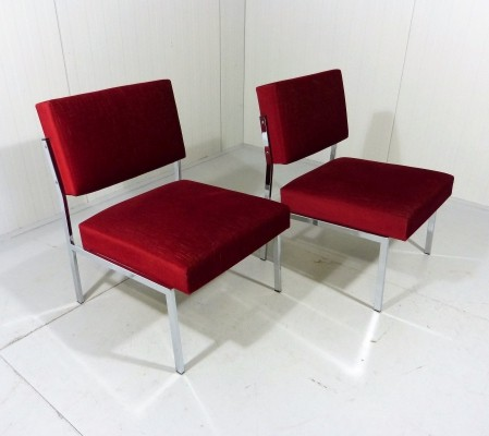 Pair of Kondor Germany lounge chairs, 1960s