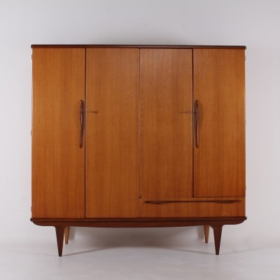 French midcentury wardrobe by Société Rennaise du Meuble (SRM)