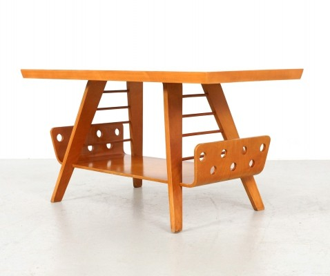 1950s Coffee Table by Cor Alons for Gouda den Boer