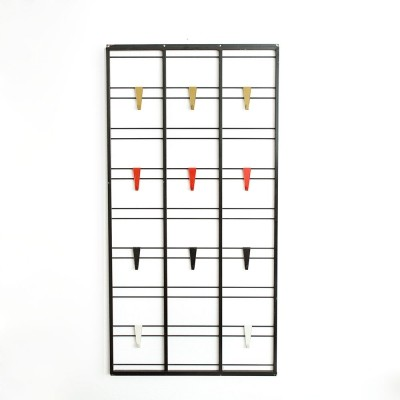 Vintage Toonladder coat rack designed by Tjerk Reijenga for Pilastro