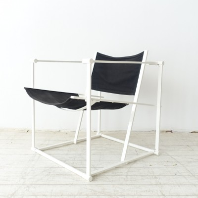 Cubic FM61 arm chair by Radboud van Beekum for Pastoe, 1980s