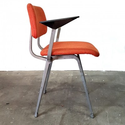 Orange Revolt chair by Friso Kramer for Ahrend de Cirkel