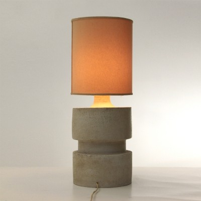Mid century table lamp in Albisola ceramic by Sandro Soravia, 1970s