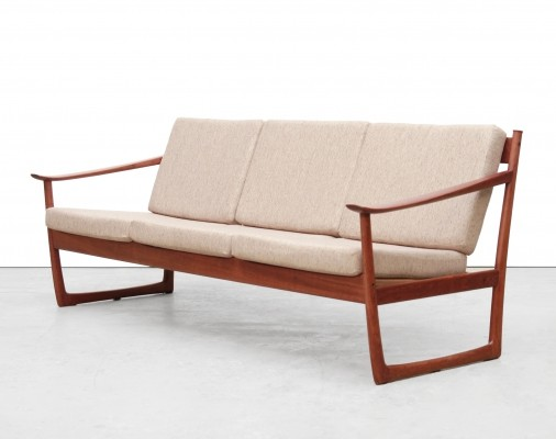 FD130 sofa by Peter Hvidt & Orla Mølgaard Nielsen for France & Daverkosen, 1960s