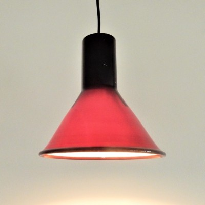 Mini P & T pendant lamp by Michael Bang for Holmegaard, 1970's