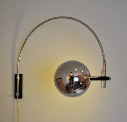 2 x Gepo wall lamp, 1960s