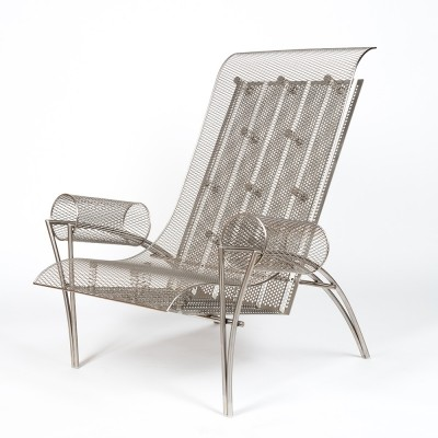 Suki armchair designed by Toyo Ito for Driade in 1987