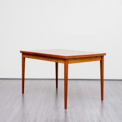 Extendable dining table in walnut, 1960s