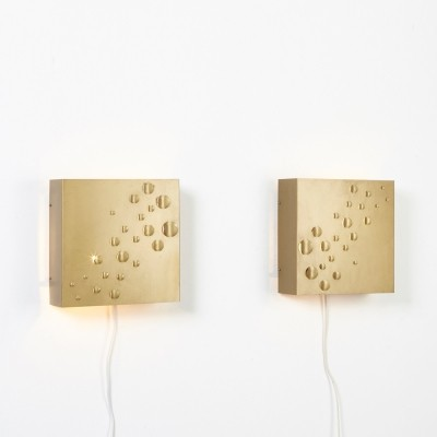 Pair of Sterrenregen Wall Lamps by Evert Jelle Jellis for Raak, 1966