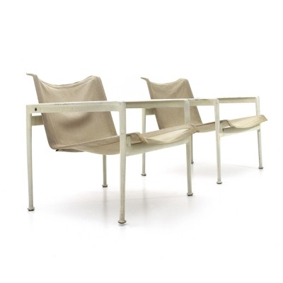 Outdoor 1966 armchairs by Richard Schultz for Knoll, 1960s