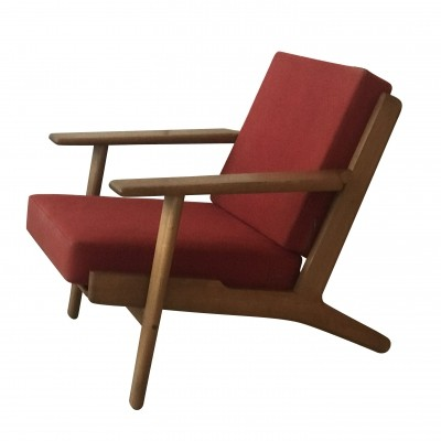 GE 290 lounge chair by Hans Wegner for Getama, 1950s