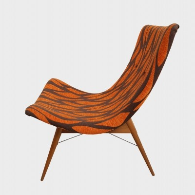 2 x TV lounge chair by Miroslav Navrátil, 1960s