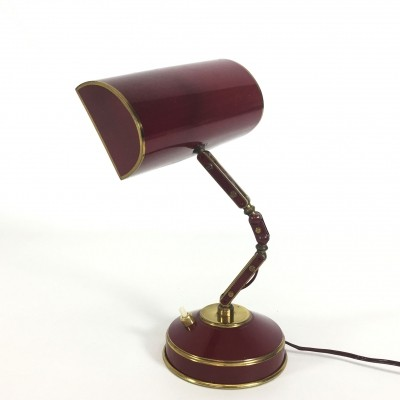 Aluminor desk lamp, 1970s