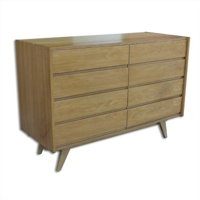 Mid century chest of drawers U-453 by Jiri Jiroutek, Czechoslovakia 1960s